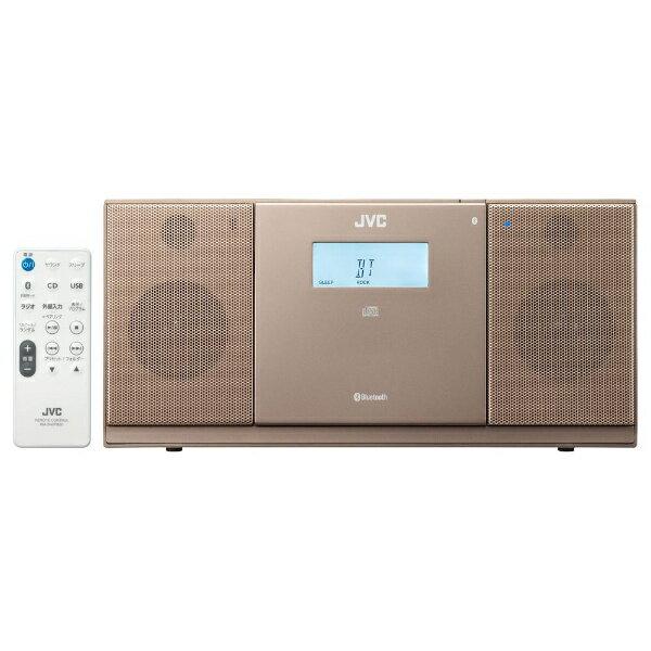 【送料無料】 JVC ジェイブイシー 【ワイドFM対応】CDラジオ(ラジオ+CD)(ブラウン) NXPB30T[NXPB30T]