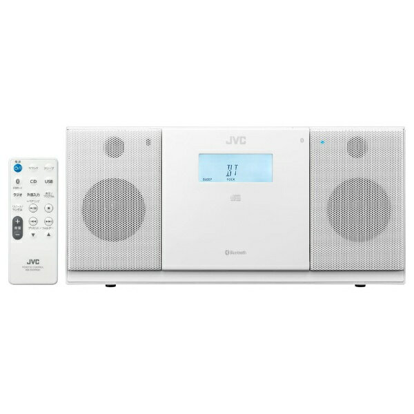 【送料無料】 JVC 【ワイドFM対応】CDラジオ(ラジオ+CD)(ホワイト) NXPB30W[NXPB30W]