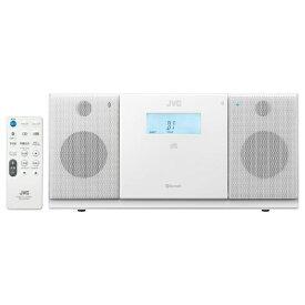 JVC ジェイブイシー CDラジオ NX-PB30 ホワイト [Bluetooth対応 /ワイドFM対応][CDコンポ ブルートゥース NXPB30W]