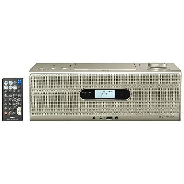 JVC ジェイブイシー RD-W1 CDラジオ シャンパンゴールド [Bluetooth対応 /ワイドFM対応 /ハイレゾ対応][RDW1N]