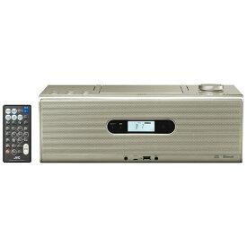 JVC ジェイブイシー CDラジオ RD-W1 シャンパンゴールド [Bluetooth対応 /ワイドFM対応 /ハイレゾ対応][RDW1N]