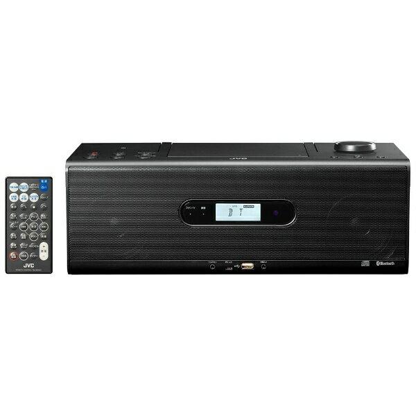 【送料無料】 JVC ジェイブイシー 【ワイドFM対応】CDラジオ(ラジオ+USBメモリー+CD)(ブラック) RDW1B