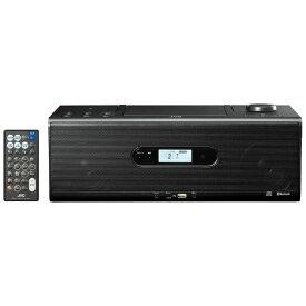 JVC ジェイブイシー CDラジオ RD-W1 ブラック [Bluetooth対応 /ワイドFM対応 /ハイレゾ対応]