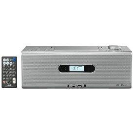 JVC ジェイブイシー CDラジオ RD-W1 シルバー [Bluetooth対応 /ワイドFM対応 /ハイレゾ対応]