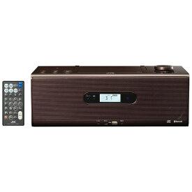JVC ジェイブイシー CDラジオ RD-W1 ブラウン [Bluetooth対応 /ワイドFM対応 /ハイレゾ対応][RDW1T]