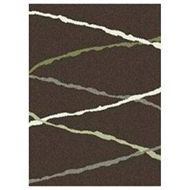 水野 Mizuno ラグ ソレント(160×230cm/ブラウン)[生産完了品 在庫限り][MZ4253]