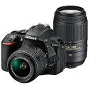 【送料無料】 ニコン D5500【ダブルズームキット】(ブラック/デジタル一眼レフカメラ)[D5500WZBK]