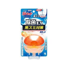 小林製薬 Kobayashi 液体ブルーレットおくだけ 除菌EX スーパーオレンジの香り 無色の水 本体〔トイレ用洗剤〕【wtnup】