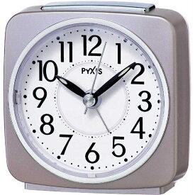 セイコー SEIKO 目覚まし時計 PYXIS 薄ピンクパール NR440P [アナログ]