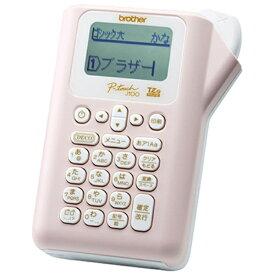 ブラザー brother PT-J100P ラベルライター P-touch(ピータッチ) ライトピンク[PTJ100P]