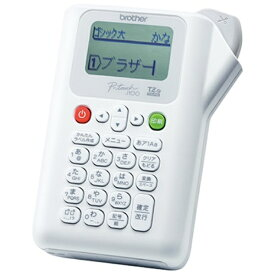 ブラザー brother PT-J100W ラベルライター P-touch(ピータッチ) ホワイト[PTJ100W]