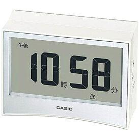 カシオ CASIO 目覚まし時計 【wave ceptor(ウェーブセプター)】 ホワイト DQDS01J7JF [デジタル /電波自動受信機能有][DQDS01J7JF]