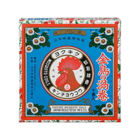 金鳥の渦巻K 10巻入〔蚊取り線香〕大日本除虫菊 KINCHO