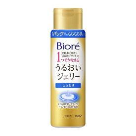 花王 Kao Biore(ビオレ)うるおいジェリー しっとり 本体(180ml)[化粧水]