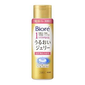花王 Kao Biore(ビオレ)うるおいジェリー とてもしっとり 本体(180ml)[化粧水]