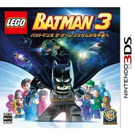 ワーナーブラザースジャパン Warner Bros. LEGO(R) バットマン3 ザ・ゲーム ゴッサムから宇宙へ【3DSゲームソフト】