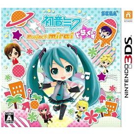 セガ SEGA 初音ミク Project mirai でらっくす【3DSゲームソフト】