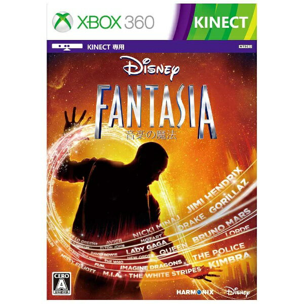 マイクロソフト ディズニー ファンタジア:音楽の魔法【Xbox360ゲームソフト】