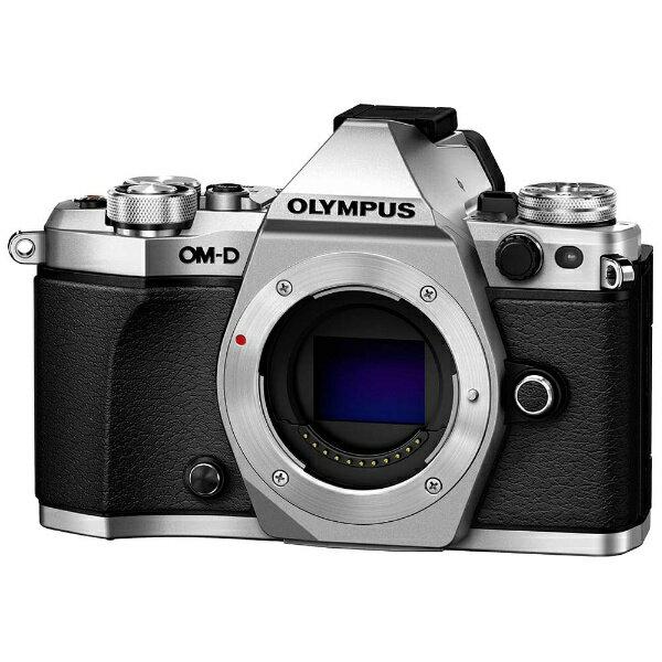 オリンパス OLYMPUS OM-D E-M5 Mark II【ボディ(レンズ別売)】(シルバー)/ミラーレス一眼カメラ[OMDEM5MARK2ボディーシル]