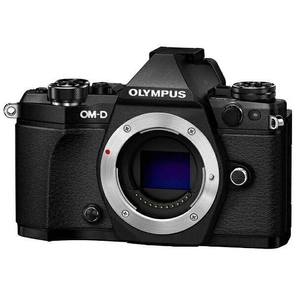 オリンパス OLYMPUS OM-D E-M5 Mark II【ボディ(レンズ別売)】(ブラック)/ミラーレス一眼カメラ[OMDEM5MARK2ボディーブ]