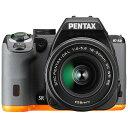 【送料無料】 ペンタックス PENTAX K-S2【18-50REキット】(ブラック×オレンジ/デジタル一眼レフカメラ)[生産完了品 在庫限り]