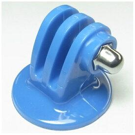 GOBROS. ゴブロス 三脚用 プラスチック・クランプマウント(ブルー) GB0107