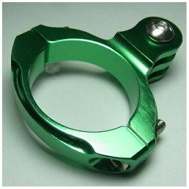 GOBROS. ゴブロス 31.8mmハンドルバー・クランプマウント -Standard(グリーン) GB0106[GB0106]