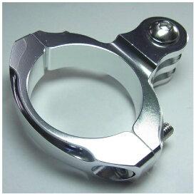 GOBROS. ゴブロス 31.8mmハンドルバー・クランプマウント -Standard(シルバー) GB0106[GB0106]