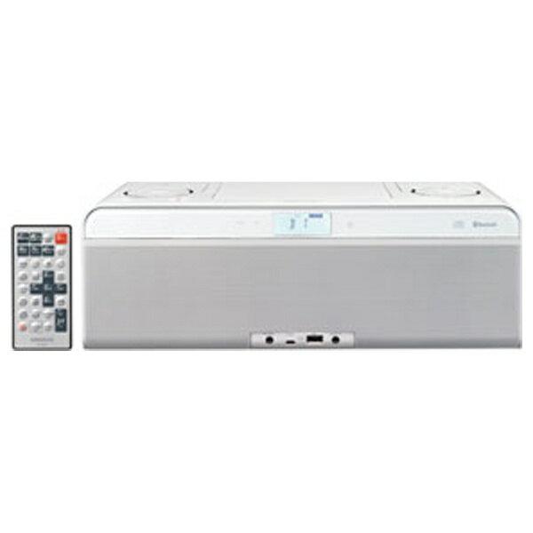 【送料無料】 ケンウッド 【ワイドFM対応】Bluetooth対応 CDラジオ(ラジオ+USBメモリー+CD)(セラミックホワイト) CLX-50W[CLX50W]