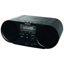 ソニー SONY ZS-S40 CDラジオ ブラック [ワイドFM対応][ZSS40BC]