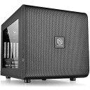 【送料無料】 THERMALTAKE Micro ATX/Mini ITX対応キューブ型PCケース Core V21 (電源なし・ブラック) CA-1D5-00...