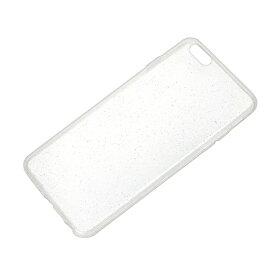 PGA iPhone 6 Plus用 TPUスーパースリムケース クリアラメ PG-I6LTP02CL[PGI6LTP02CL]