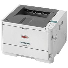 OKI オキ B432dnw モノクロレーザープリンター COREFIDO(コアフィード) [はがき〜A4][B432DNW]【プリンタ】