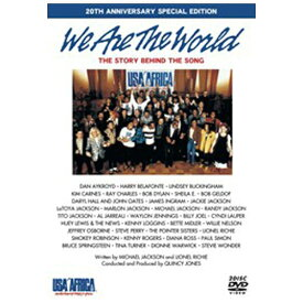 ハピネット Happinet We Are The World THE STORY BEHIND THE SONG 20TH ANNIVERSARY SPECIAL EDITION 【DVD】