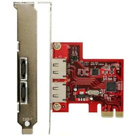 玄人志向 eSATA(2ポート)増設用 PCI Express x1ボード SATA3-PCIE-E2[SATA3PCIEE2]