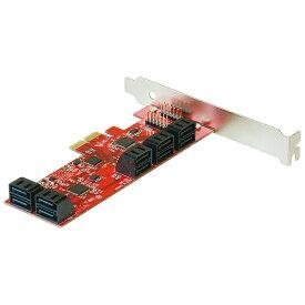 玄人志向 SATA3(10ポート)増設用 PCI Express x2ボード SATA3I10-PCIe