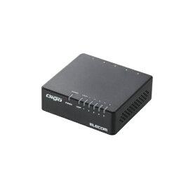 エレコム ELECOM スイッチングハブ(5ポート・Gigabit対応・ACアダプタ) エコ省電力タイプ・マグネット付 (ブラック) EHC-G05PA-JB-K[EHCG05PAJBK]