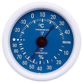 タニタ TANITA TT-515 温湿度計 ブルー [アナログ][TT515BL]