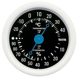タニタ TANITA TT-515 温湿度計 ブラック [アナログ][TT515BK]