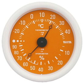 タニタ TANITA TT-515 温湿度計 オレンジ [アナログ][TT515OR]
