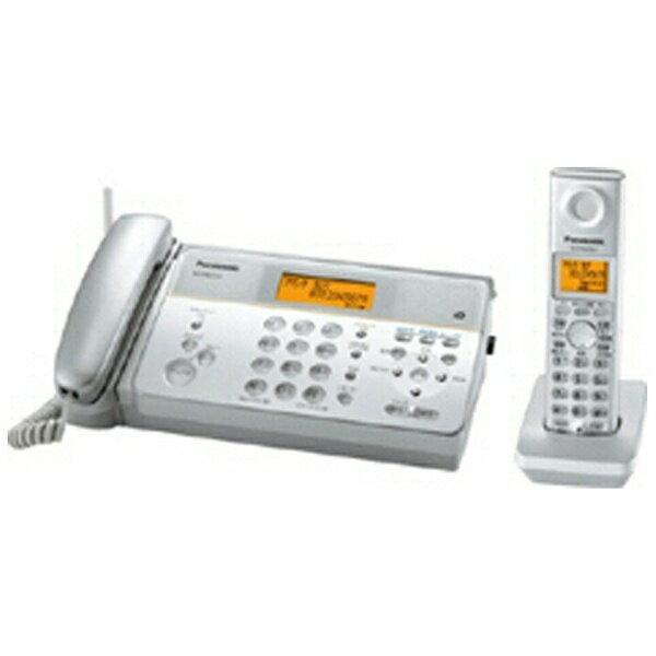 【送料無料】 パナソニック Panasonic 【子機1台付】コードレス留守番感熱紙FAX 「おたっくす」 KX-PW211DL-S[KXPW211DLS] panasonic
