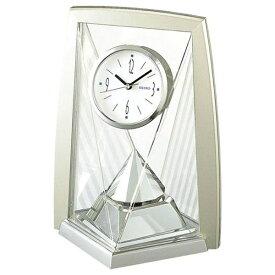 セイコー SEIKO 置き時計 スタンダード 薄金色パール BY423S