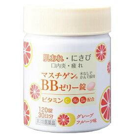 【第3類医薬品】 マスチゲンBBゼリー錠(120錠)〔ビタミン剤〕【wtmedi】日本臓器製薬 Nippon Zoki Pharmaceutical