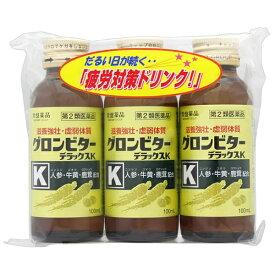 【第2類医薬品】 グロンビターデラックスK (100mL)〔栄養ドリンク〕【wtmedi】常盤薬品 TOKIWA Pharmaceutical