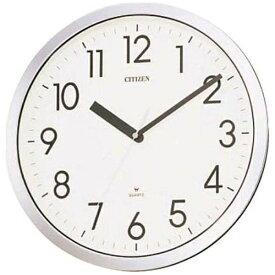 シチズン CITIZEN 掛け時計 オフィスタイプ 強化防滴・防塵型 CITIZEN クロームメッキ仕上 4MG522-050[4MG522050]