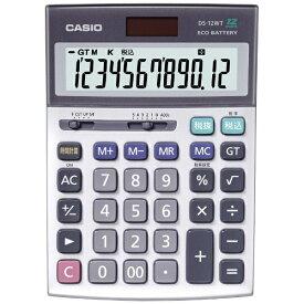 カシオ CASIO 電卓 (12桁) DS-12WT-N[DS12WTN]