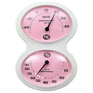 タニタ TANITA TT-509 温湿度計 ピンク [アナログ][TT509PK]