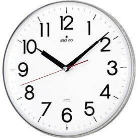 セイコー SEIKO 掛け時計 【スタンダード】 白 KX301H [電波自動受信機能有]