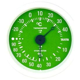 タニタ TANITA TT-515 温湿度計 グリーン [アナログ][TT515GR]