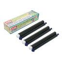 ミヨシ MIYOSHI 普通紙FAX用インクフィルム FXS533N-3 (33m×3本入り)[FXS533N3]